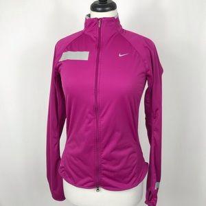 Nike Elements Running Reflective Jacket Dri-Fit